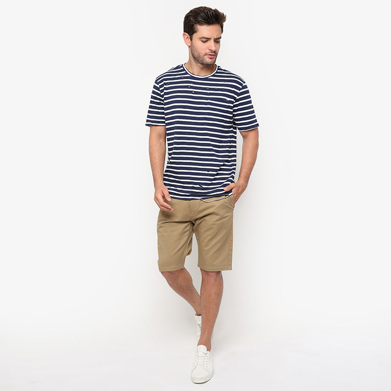 Stripes 03 S/S Tee - Navy