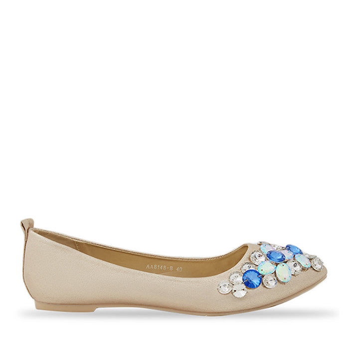Woman Alice Flats - Gold