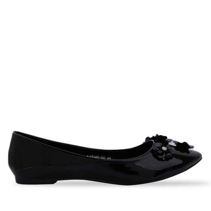 Woman Belle Flats - Black