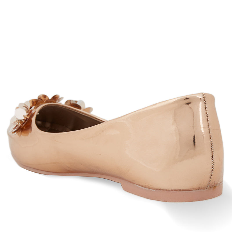 Woman Belle Flats - Rose Gold