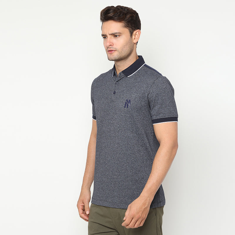 Indigo 03  Polo - Navy