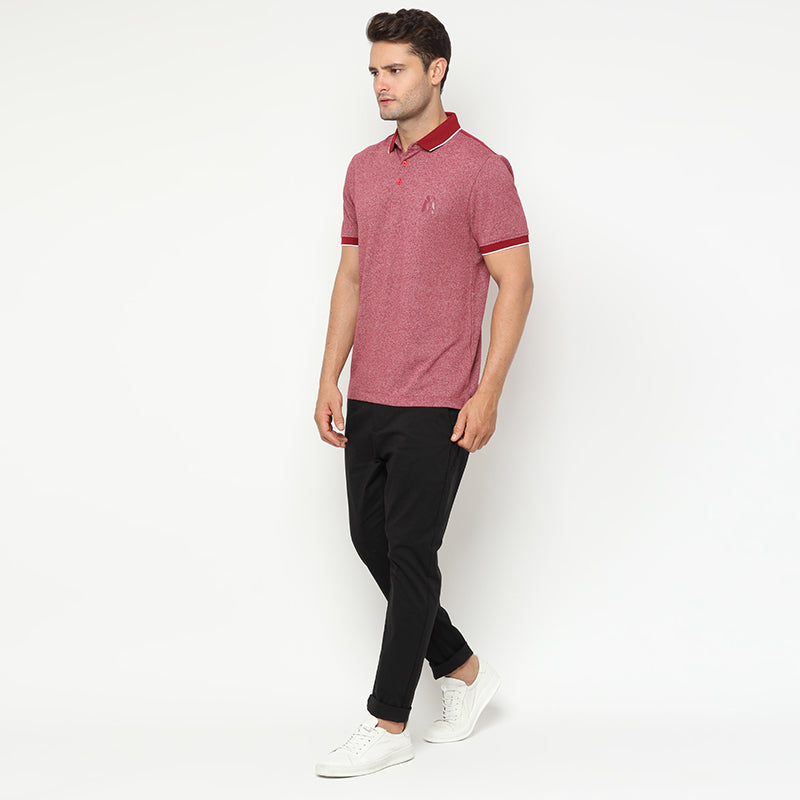 Indigo 03  Polo - Red