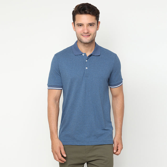 Indigo 02 Polo - Blue