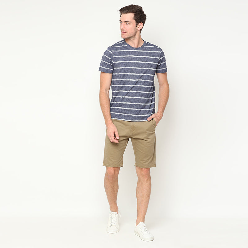 Stripes 04 S/S Tee - Navy