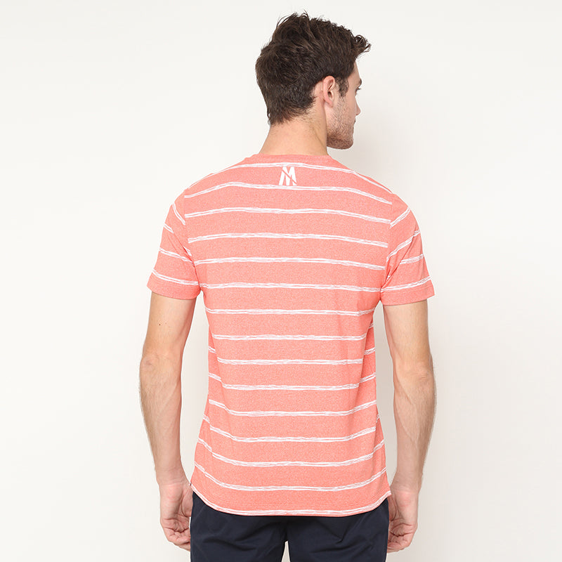 Stripes 04 S/S Tee - Orange