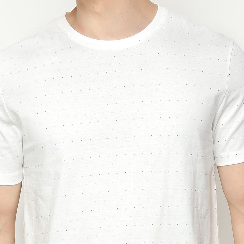 Dotted 002 S/S Tee - White