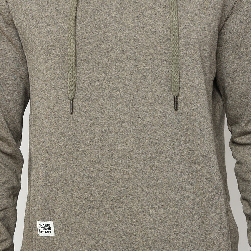 Pocket Hoodie - Brown
