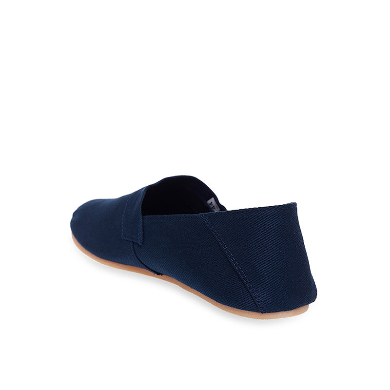 Canvas Slip-On NB015 - Blue