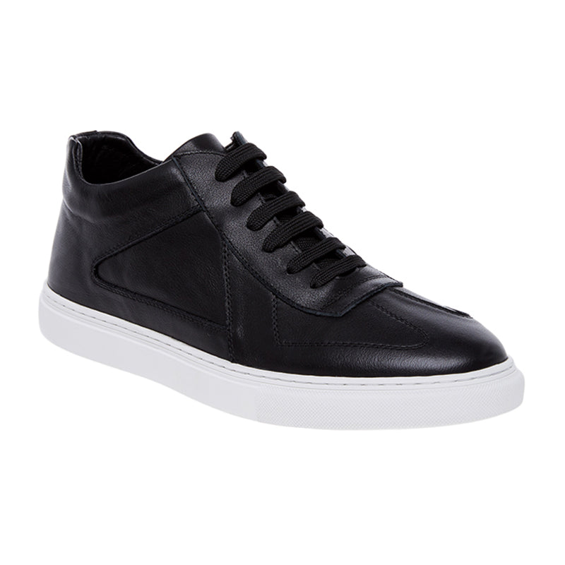 Kyle Leather Sneakers - Black