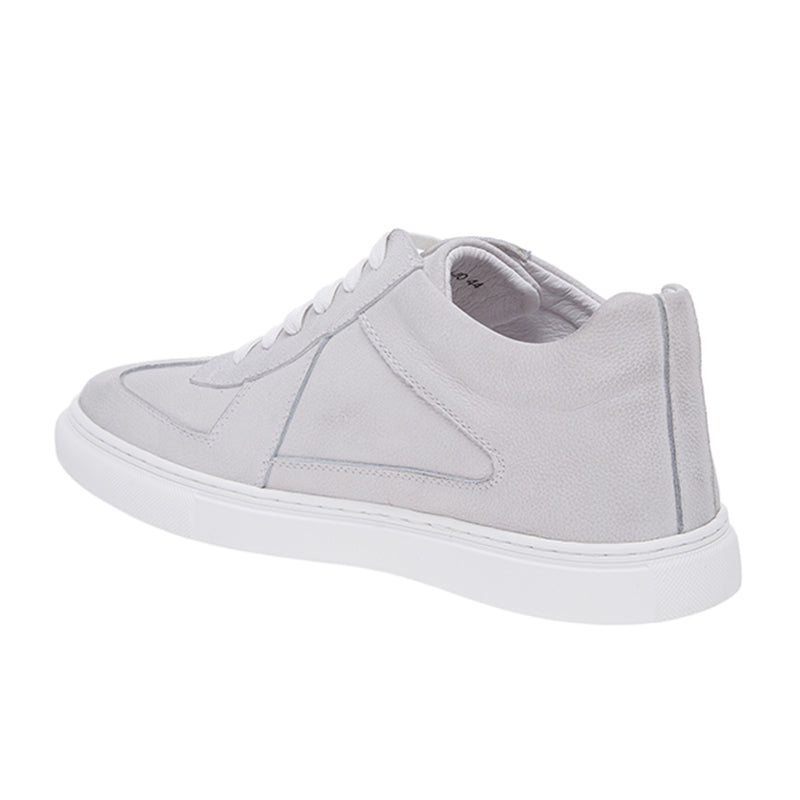 Kyle Leather Sneakers - Grey