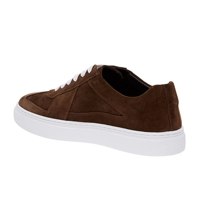 Gerald Suede Sneakers - Brown