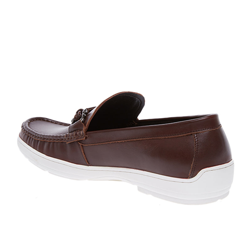 Amos Leather Loafers - Brown