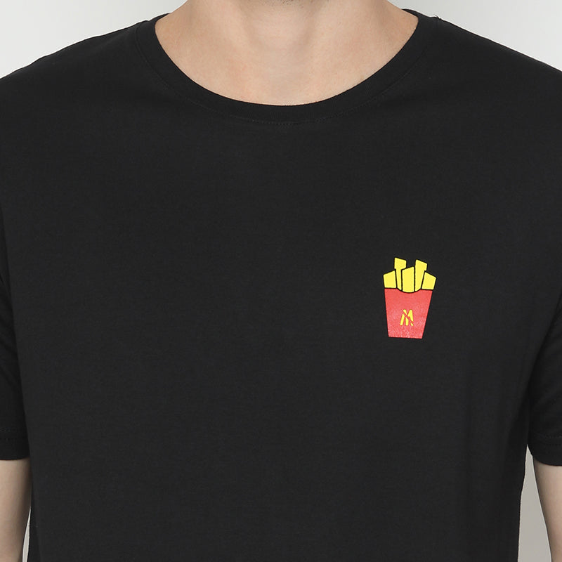 French Fries S/S Tee - Black