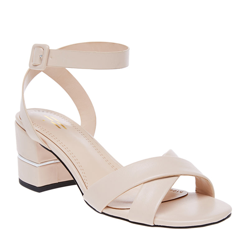Woman Hilda Block Heels - Cream