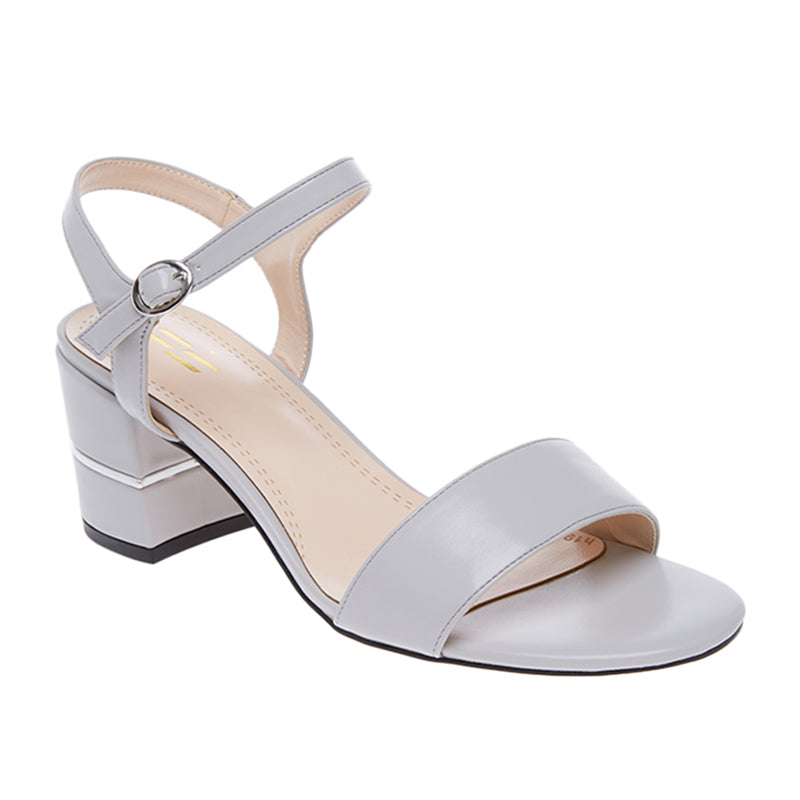 Woman Aurora Block Heels - Grey