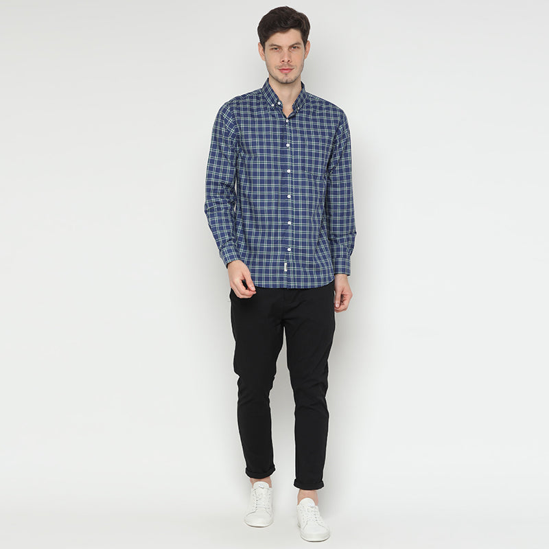 Plaid 010 L/S Shirt - Green
