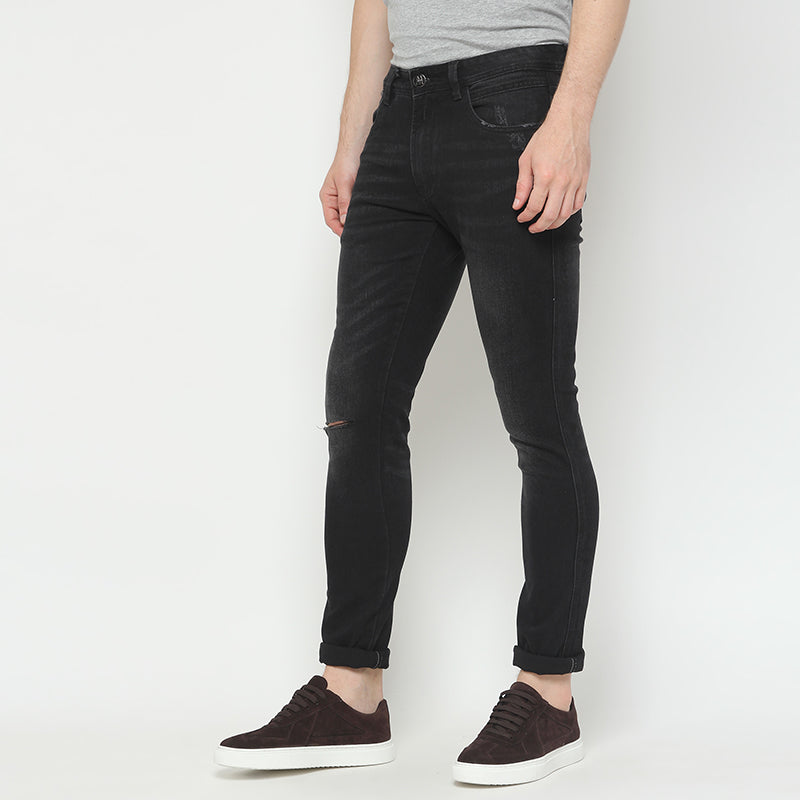 Chadwick Denim Pants - Black