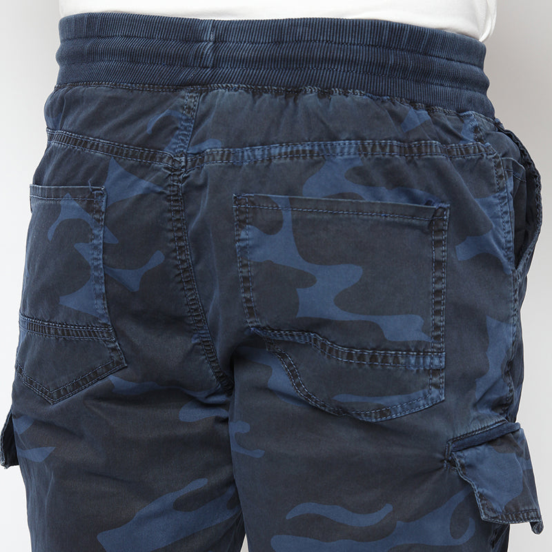 Camo Short Pants - Blue