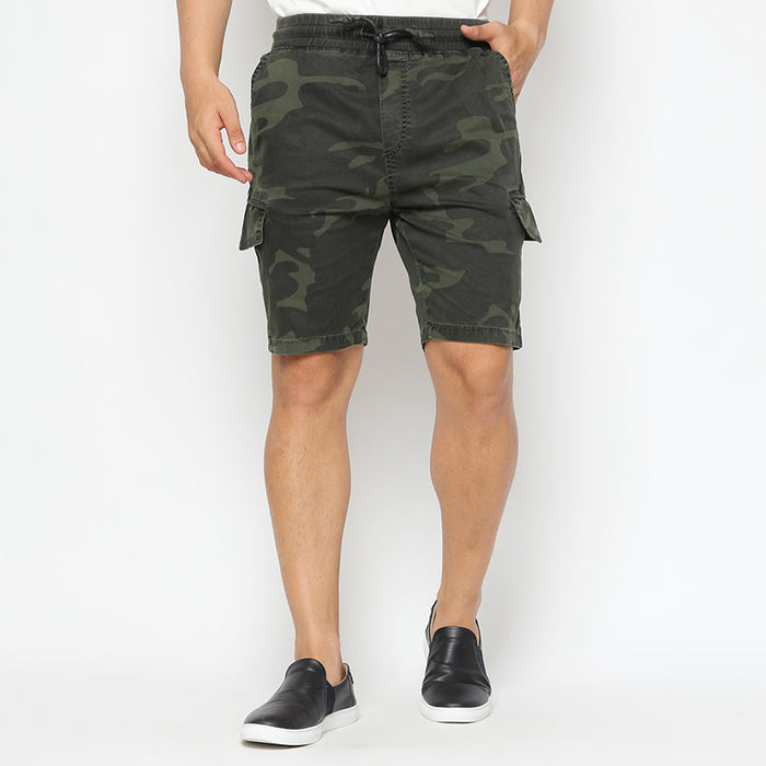 Camo Short Pants - Green