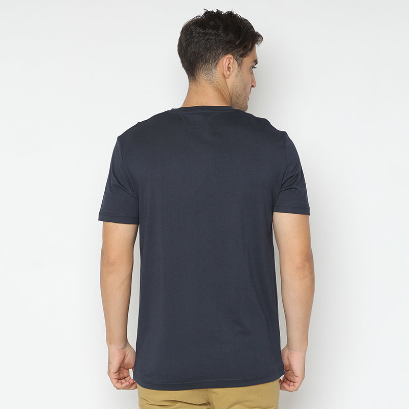 Pocket Stripes S/S Tee - Navy