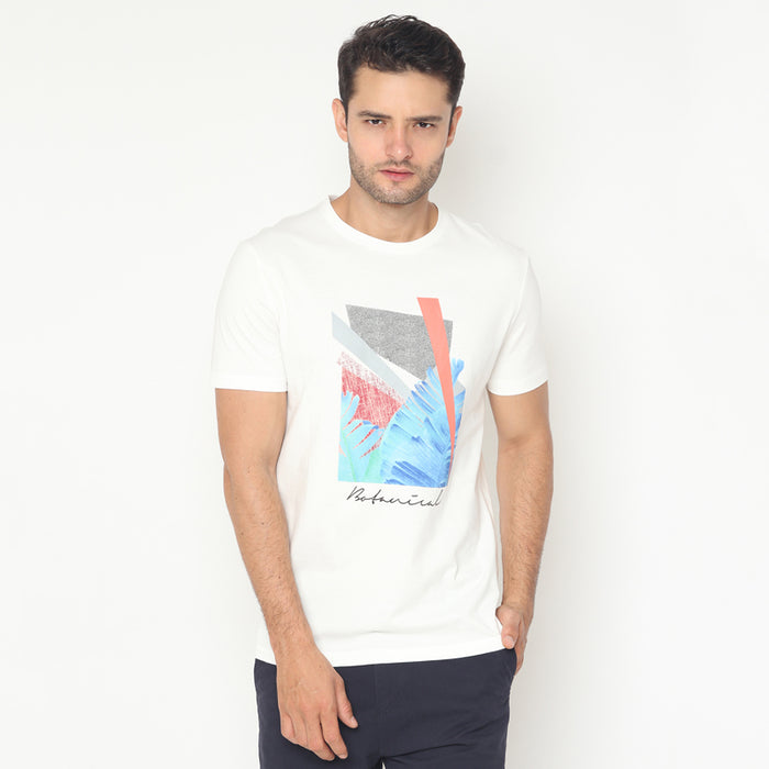 Botanical S/S Tee - White