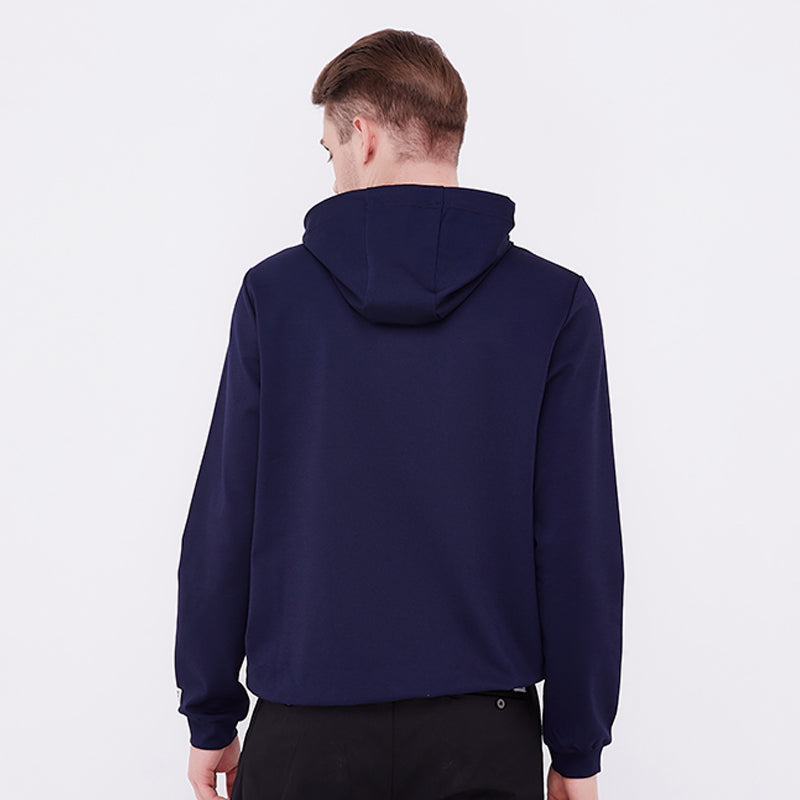 Stretched Hoodie - Navy