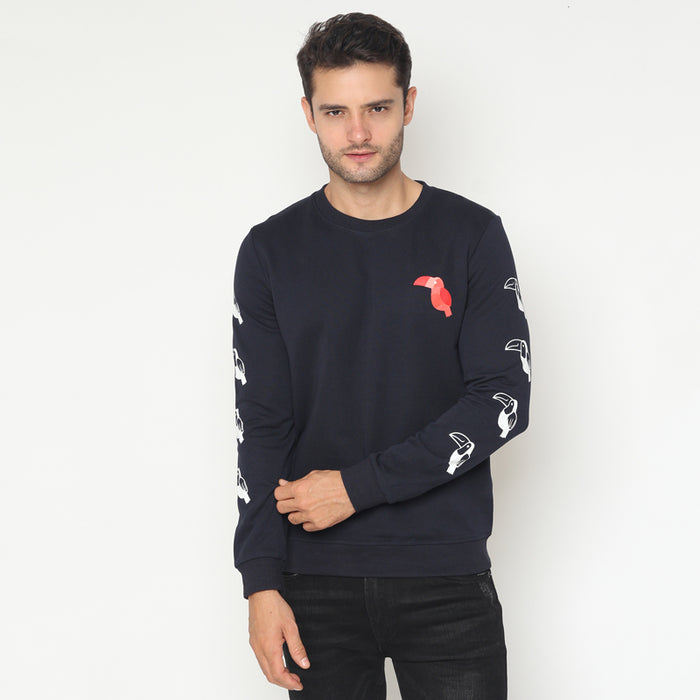 Toucan Sweatshirt - Navy