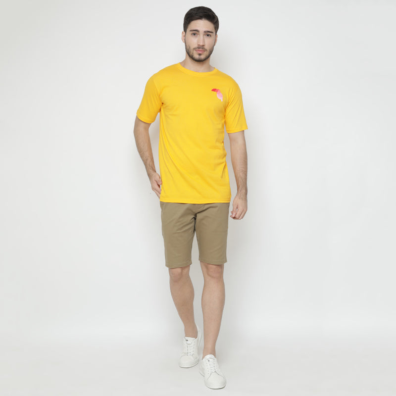 Toucan Colours S/S Tee - Yellow