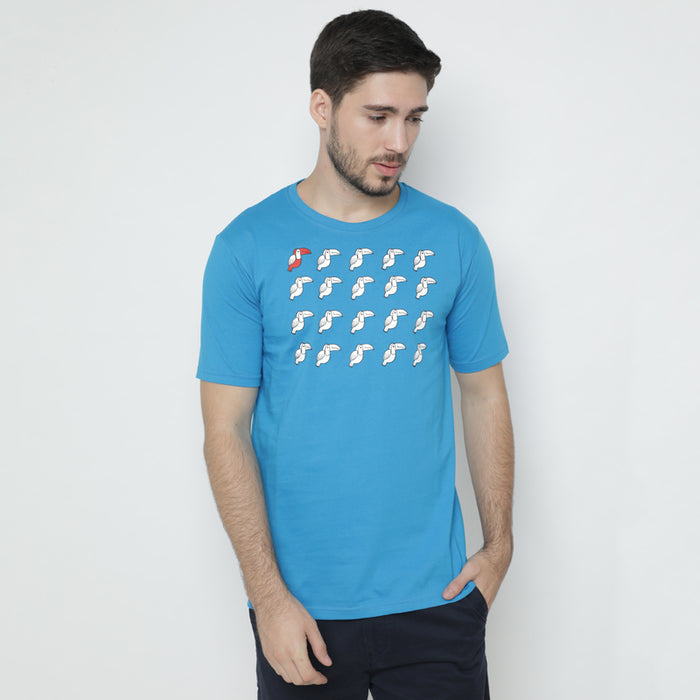 Toucan Squad S/S Tee - Blue