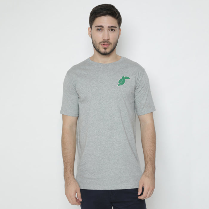 Toucan Lined S/S Tee - Grey