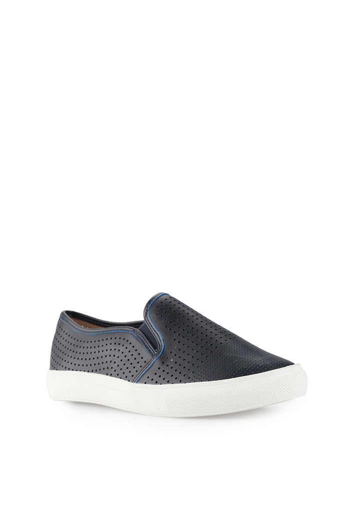 Woman Perforated Slip-On 92706 - Blue