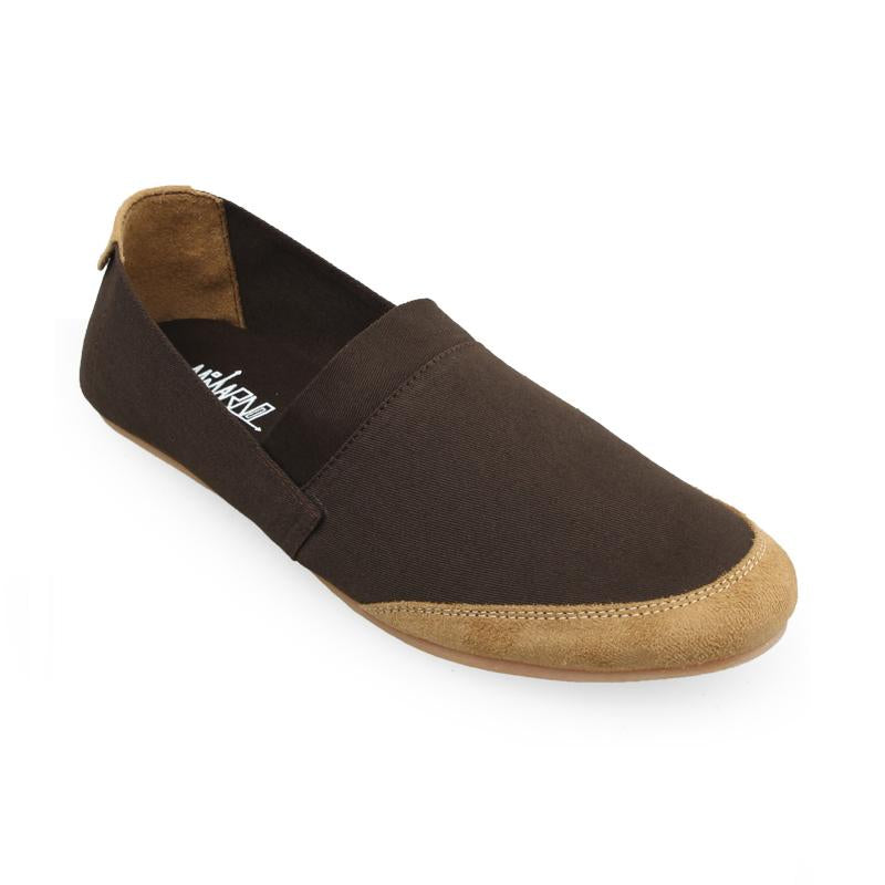 Canvas Slip-On NB05 - Brown