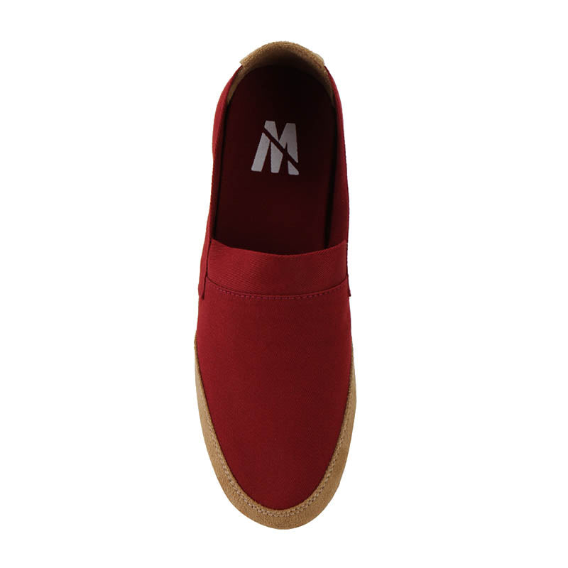 Canvas Slip-On NB05 - Red