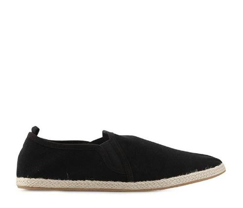 Canvas Slip-On ND125 - Black