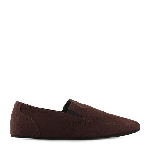 Canvas Slip-On ND126 - Brown