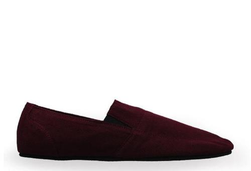Canvas Slip-On ND126 - Maroon