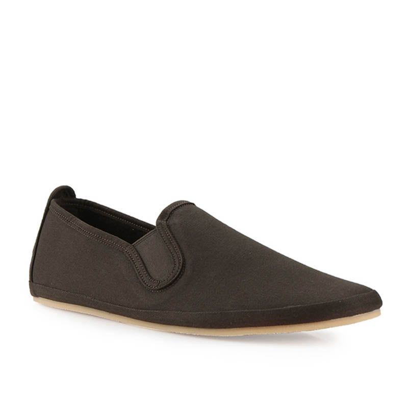 Canvas Slip-On ND133 - Brown