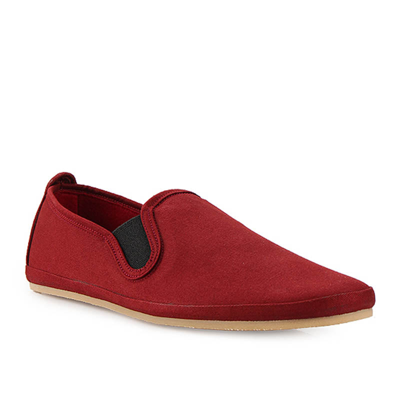 Canvas Slip-On ND133 - Maroon