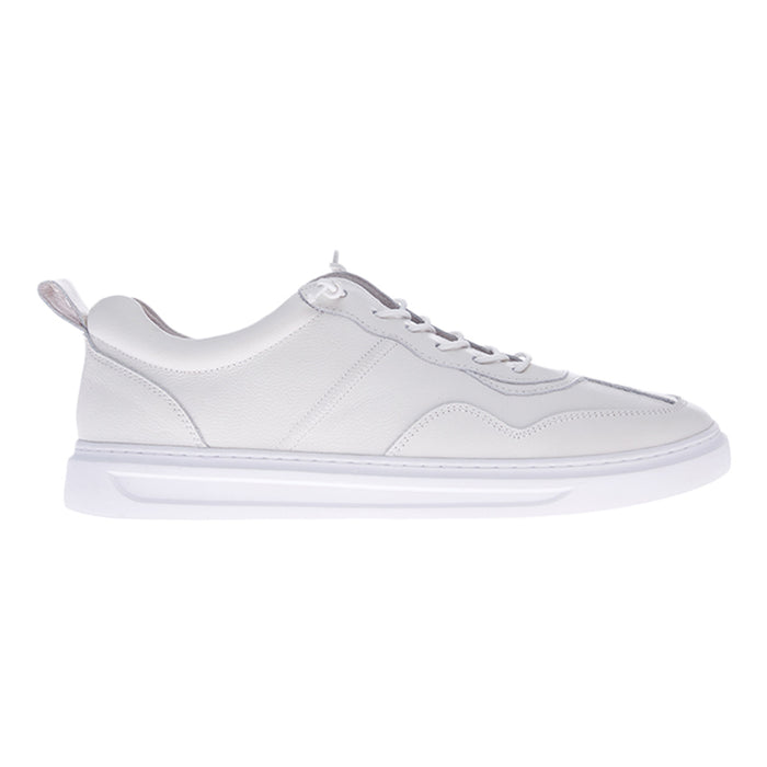 Nick Leather Sneakers - White