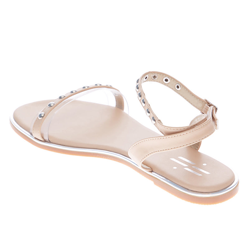 Woman Rosalyn Strap Sandals - Cream