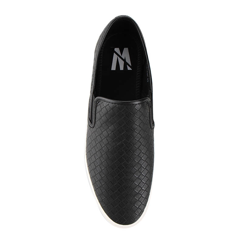 Weave Slip-On - Black