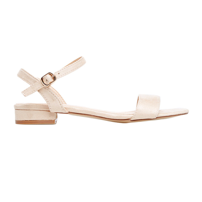 Woman Aurel Suede Sandals - Cream