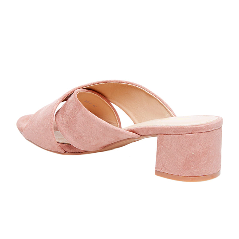 Woman Eva Suede Sandals - Pink