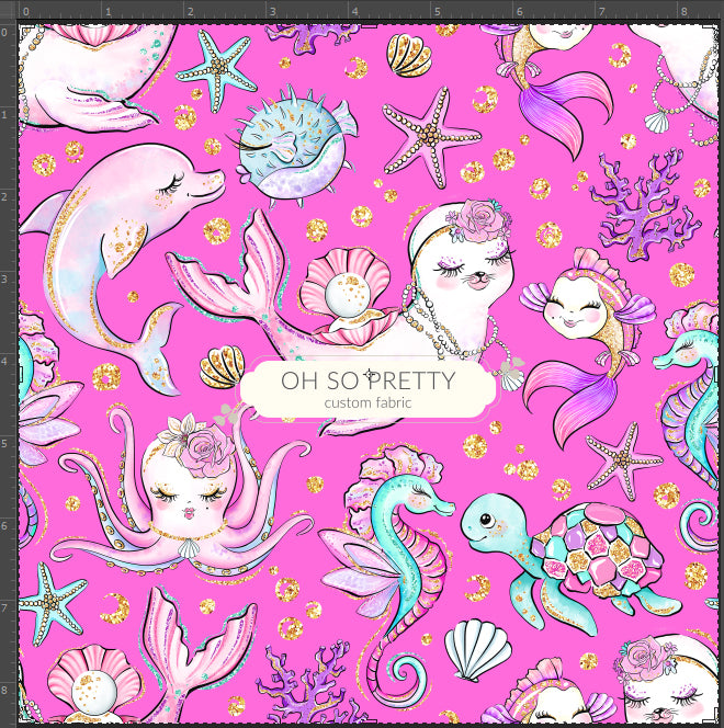 Retail Mermazing Animals on Pink