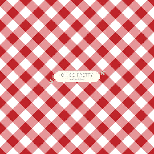 Preorder Autumn Essentials Red Gingham
