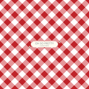 Retail Autumn Essentials Red Gingham