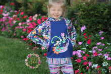 PREORDER R55 - Paisley - Navy - Panel -  CHILD