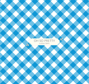 Preorder Summer Essential Light Blue Gingham