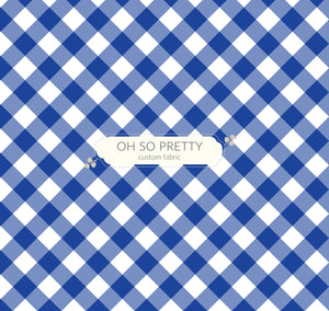 Preorder Summer Essential Blue Gingham