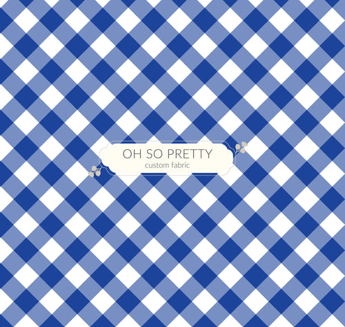 Retail Summer Essential Blue Gingham